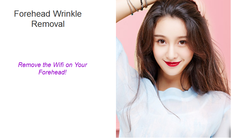 forehead wrinkle removal